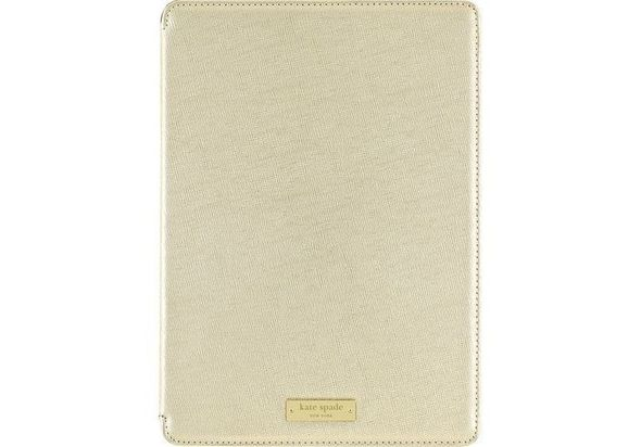 Kate Spade New York Folio Case for Apple iPad Air 2, Metallic Gold