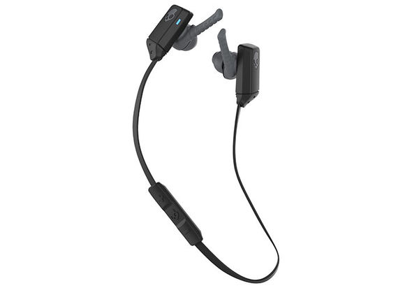 Skullcandy XTfree In-Ear Sound Isolating Headphones with Mic, Black/Grey