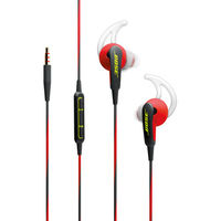 Bose SoundSport In-Ear Headphones-Apple Devices, Power Red