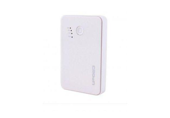 Crown CMPB-4600w - 4600mAh Power Bank - White