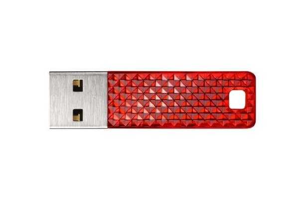 SanDisk Cruzer Facet 32GB USB 2.0 Flash Drive, Red