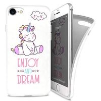 iPaint Dream Soft Case Silicone Case for iPhone 7
