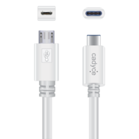 Cadyce USB-C to Micro USB 2.0 Male Cable
