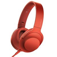 Sony Premium Hi-Res Stereo Headphones, Cinnabar Red