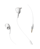 Jabra Active Corded Stereo Sports Headset,  White