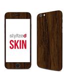 Stylizedd Premium Vinyl Skin Decal Body Wrap for Apple iPhone 6S - Wood Marine Teak