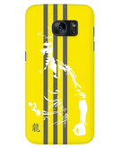 Stylizedd Samsung Galaxy S7 Edge Premium Slim Snap case cover Matte Finish - Fighter - Bruce Lee STZ-S7E-S-M-67