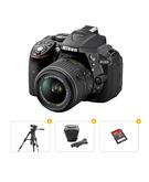 Nikon Bundle Offer D5300 18-55MM Lens Kit+ Tripod+ Carry Case+ Ultra SD Card 16GB