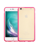 Promate Amosi6P iPhone Case Impact Resistant Snapon Cover For Apple iPhone 6/6S Plus Pink