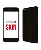 Stylizedd Premium Vinyl Skin Decal Body Wrap for Apple iPhone 6S - Wood Dark Tamo
