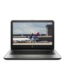 HP Laptop 14AM Celeron 500GB 4GB 14 Inch DVD Win 10 English Arabic Keyboard Dark silver