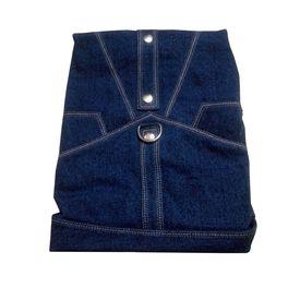 Zorba Designer Denim Jacket for Medium Breed Dogs, blue, 22 inch