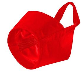 Kennel Nylon Muzzle for Small to Medium Dogs, 2, red