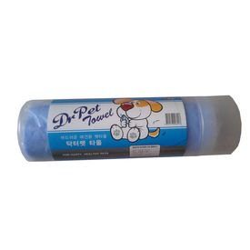 Dr. Pet High Absorbent Wet Towels for Dogs and Cats, medium