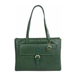 RIZZO 02, baby croco,  emerald