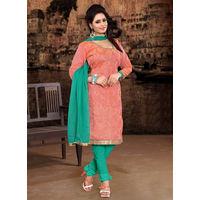 Orange Salwar Suit