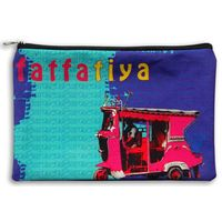 Pink Taxi Utility Pouch