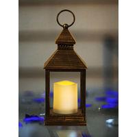 Lantern with LED Candle