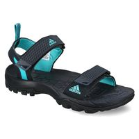 Adidas Women's Outdoor Elevate Sandals,  navy blue, 4