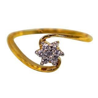 Star Shape Design Studded Fashion Ring For Women, 12