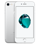 APPLE IPHONE 7 4G LTE,  silver, 32gb
