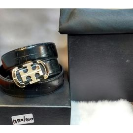 New Stylish Leather Black Belt For Men