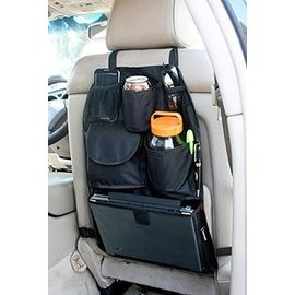 Car Back Seat Organizer Storage Bag Hanging Mesh Pockets Multi Compartments Tidy