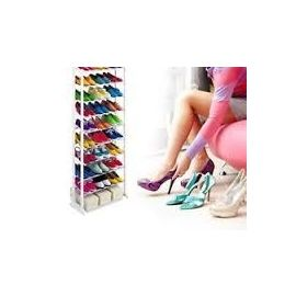 Amazing Shoe Rack Holds Upto 30 Pairs Portable and Easy to Assemble 10 Racks