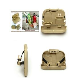Multifunction Folding Car Back Seat Drink Food Cup Tray Holder