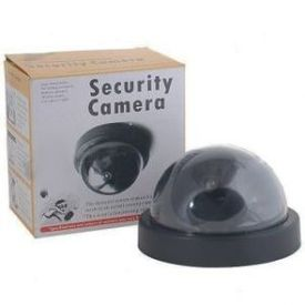 Working Dummy Dome Security Camera With Realistic Looking CctV with Motion sensors LED Blink