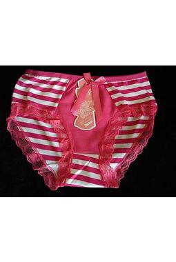 Bridal Panty - Laces Love - 95% Cotton - JKPANTY-BRIDAL-Cotton, rani pink, m  stretchable