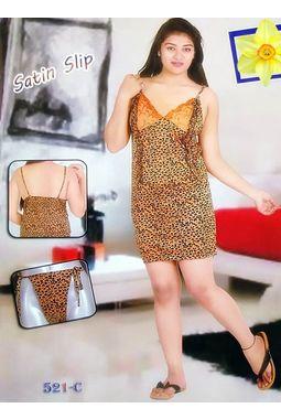 Sexy Satin Babydoll - JKDELJAICH-Baby, 521c-leopardprint-brown, free  30-36 bust  30-34 waist  30-36 hips