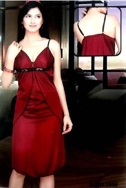 Cute and sober Babydoll - JKDEL-Baby- 1058, red