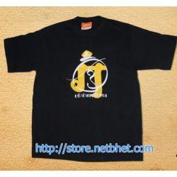 Om Gam Ganapataye_ Black_ Marathi Tshirts, m