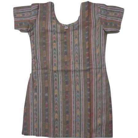 OSS8475: Handloom cotton Kurti for girls.