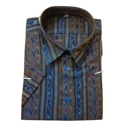 OSS179: Orissa handloom casual shirts, 44