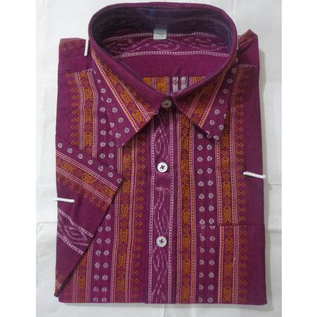 OSS8028: Indian handloom cotton Men's dress for office wear.