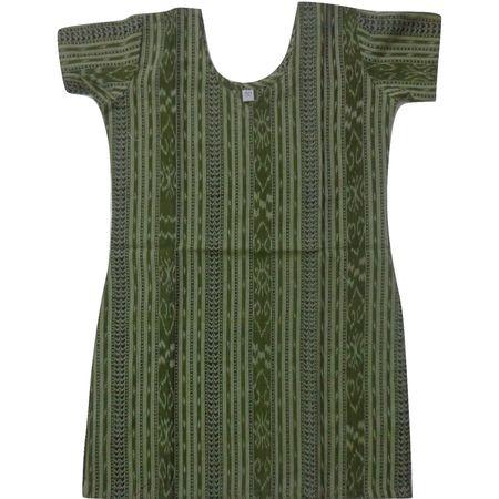 OSS8472: Handloom cotton Kurti for Girls