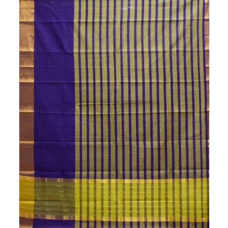 Multi Colour With Check Design Cotton Silk Saree of Telangana AJ001665