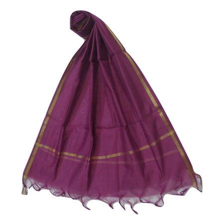 OSSUP159: Voilet Color Banarashee Silk Dupatta