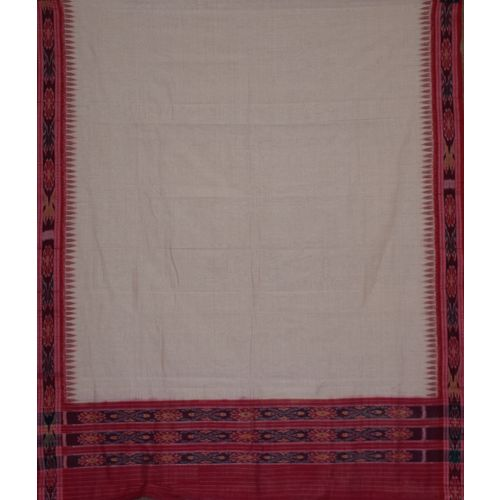 OSS229: Hand woven unstitched Lehenga Choli material of Odisha