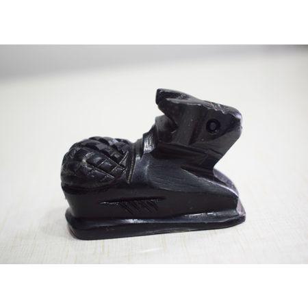 Handcrafted Black Stone Buffalo AJ001810