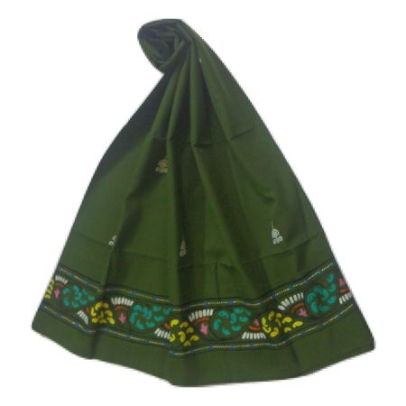 OSS300062: Green color patachitra dupatta online shopping.