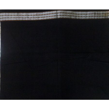 OSS3593: Black color Handloom Blouse piece from odisha