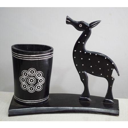 OHH008: Deer design Horn Crafts