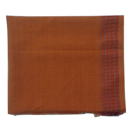 OSS3592: Handloom Light Orange color Blouse piece