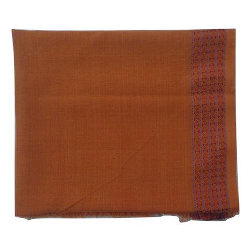OSS3592: Handloom Light Orange color Blouse piece