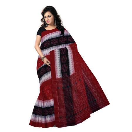 OSS7317: Kaniara Kadha design multi-colour handmade cotton saree