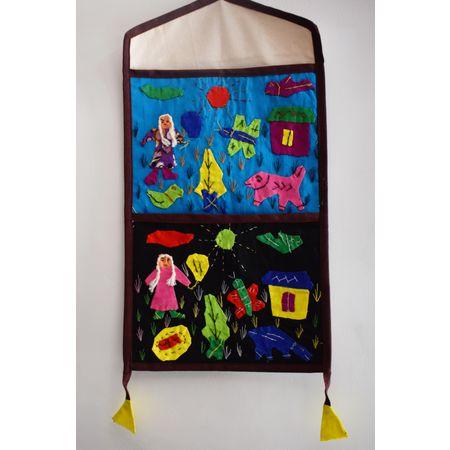 OHA047: Indiacrafts Handicraft Wall Hanging Letter Box