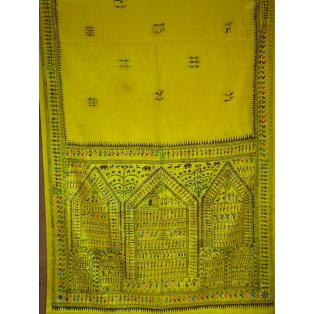 OSS20001: Patachitra Saree Made in Odisha